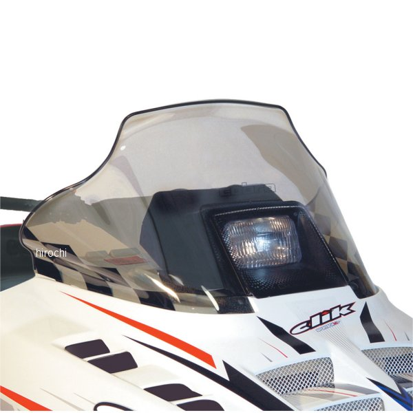 【USA在庫あり】 パワーマッド PowerMadd ウインドシールド コブラ 14インチ(356mm) ポラリス Tint色 CS-BK JP店