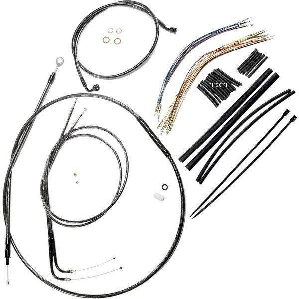 【USA在庫あり】 マグナム MAGNUM ケーブル キット 黒 07年-10年 FXSTC 18-20インチ エイプバー用 0610-1001 JP
