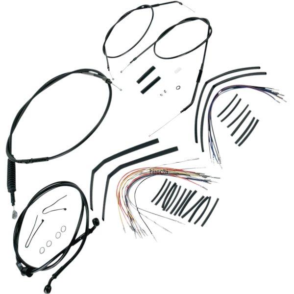 【USA在庫あり】 バーリーブランド Burly Brand ケーブル キット 黒 07年-13年 XL 14インチ エイプバー用 0610-0271 JP店