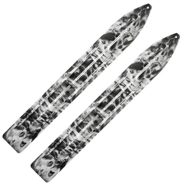 【USA在庫あり】 Slydog Skis トレイル スキー 黒/白 (左右ペア) 4602-0082 JP店
