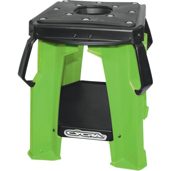USA在庫あり サイクラ CYCRA 最安値挑戦 モトスタンド オイル穴有 4101-0125 完全送料無料 プラスチック JP店 緑
