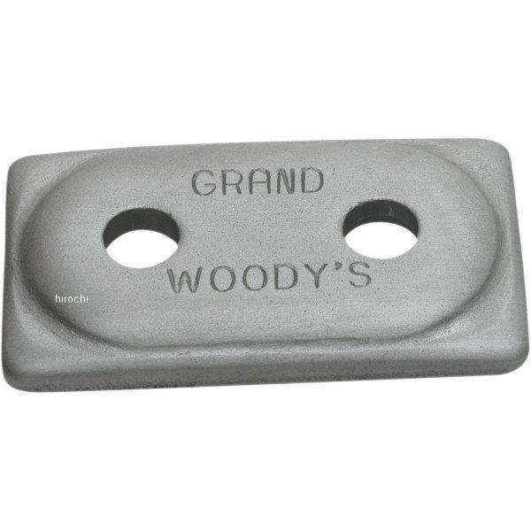 【USA在庫あり】 ウッディーズ Woody's 2ホール グランド ディガー サポートプレート (48個入り) 1250-0240 JP店