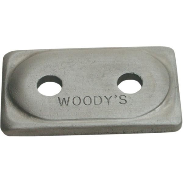 【USA在庫あり】 ウッディーズ Woody's バッキングプレート 5/16 24個入り ADA2-3775-B JP