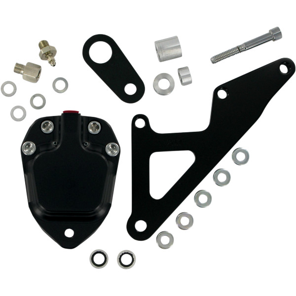 【メーカー在庫あり】 GMA エンジニアリング GMA Engineering ブレーキ キャリパー フロント 74年-77年 XL、FX スムース 黒 1701-0226 JP