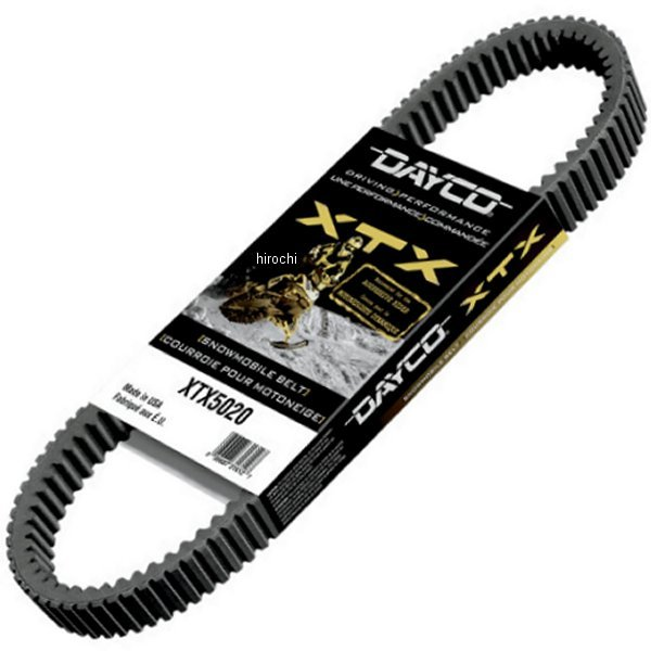 【USA在庫あり】 ダイコ Dayco Products ベルトドライブ XTX 1.448インチ(1219mm) x 43.547インチ(1094mm) 1142-0411 JP店