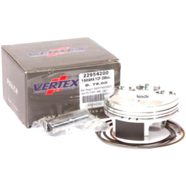 【USA在庫あり】 バーテックス Vertex ピストンキット 01年-04年 WR250、YZ250 78.96mm(+2mmビッグボア) 0910-1898 JP店