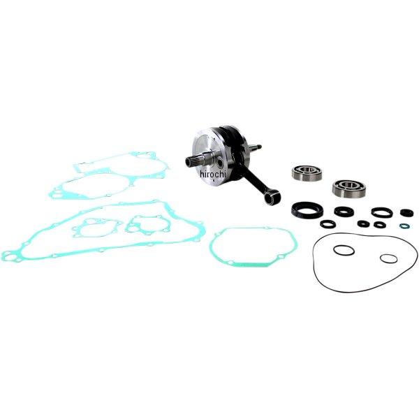 【USA在庫あり】 ワイセコ Wiseco クランクシャフトキット ベアリング、ガスケット付き 02年-04年 CR250R 左右ペア 0921-0105 JP店