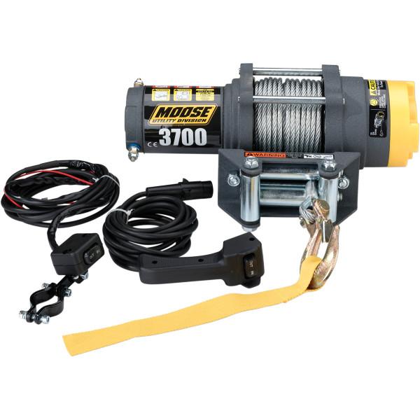 【USA在庫あり】 ムース MOOSE Utility Division ウインチ 1、665Kg 有線リモコン/ワイヤーロープ 4505-0408 JP店