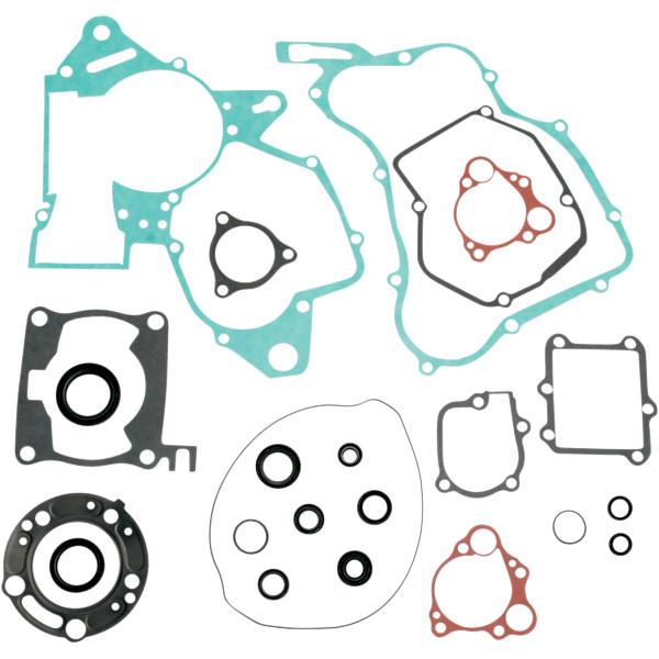 【USA在庫あり】 ムースレーシング MOOSE RACING コンプリート ガスケット オイルシール付き 03年 CR125R 0934-0450 JP店