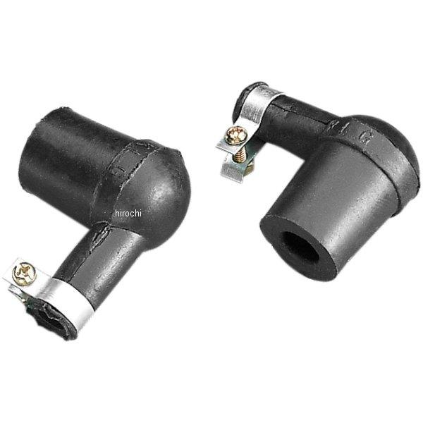 【USA在庫あり】 Parts Unlimited スパークプラグ キャップ KLGタイプ 14mm 黒 24個ペア/CARD 01-945 JP