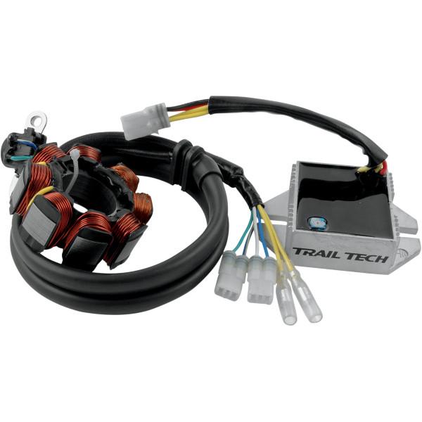 【USA在庫あり】 トレイルテック Trail Tech エレクティカル システム 40W 05年-08年 CRF450R、CRF250R 2112-0347 JP店