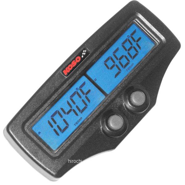 【USA在庫あり】 コソ KOSO デュアル EGT メーター/高速応答EGTセンサー付き 2212-0245 JP店