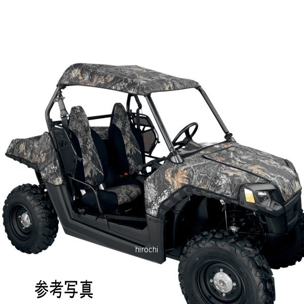【USA在庫あり】 ムース MOOSE Utility Division ルーフ 01年-08年 ポラリス Ranger 500 黒 MUDPR-108 JP店