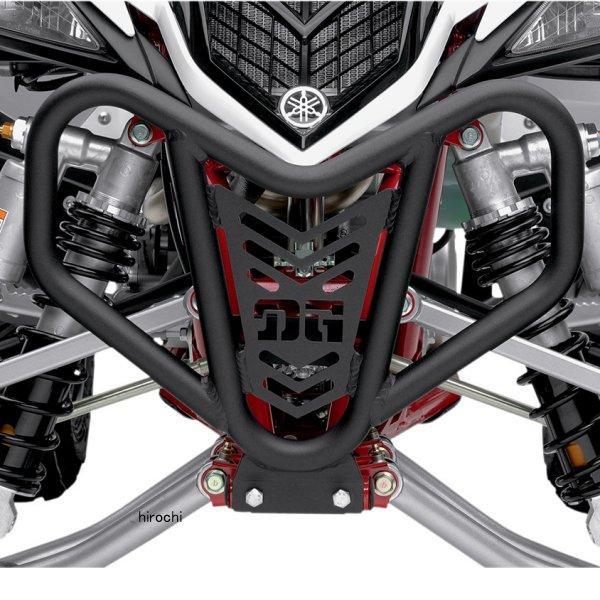 【USA在庫あり】 DGパフォーマンス DG Performance フロントバンパー V-ライト 04年-13年 ヤマハ YFZ450 黒 0530-0961 JP店