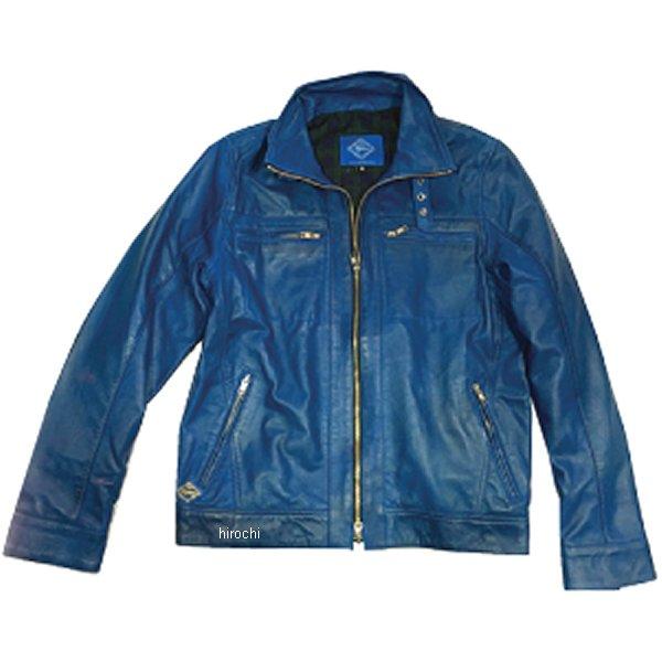 グルーヴ GROOOVE レザージャケット シングルライダース シープレザー 青 Mサイズ G-SL01 JP店