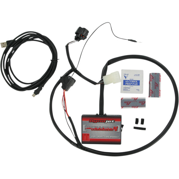 【USA在庫あり】 ムース MOOSE Utility Division パワーコマンダーV 燃調キット 09年-13年 ヤマハ YXR700F Rhino 1020-0907 JP店