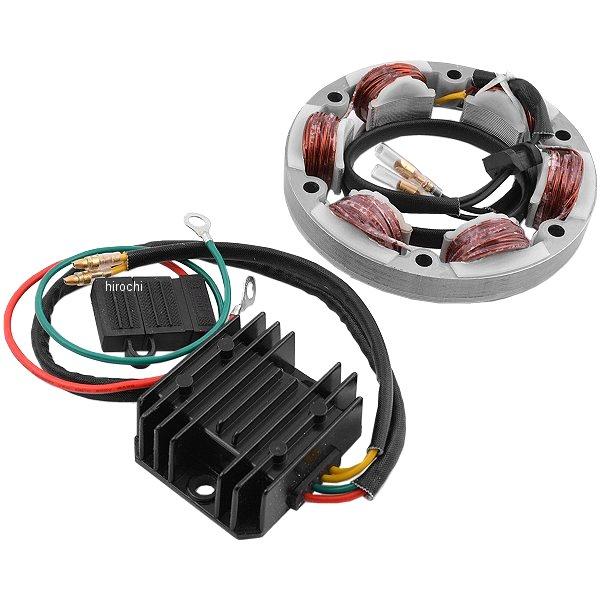 【USA在庫あり】 Rick's Motorsport Electrics ハイアウトプット 充電セット 68年-76年 スーパースポーツ CB350G 2112-0254 JP店