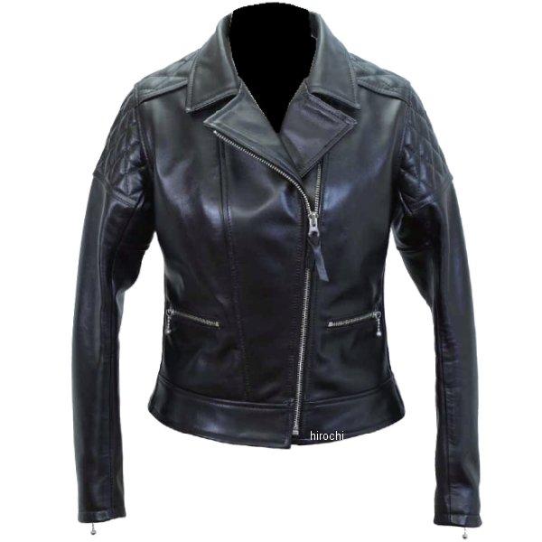 1171 カドヤ KADOYA レザージャケット ダブル KL-PTD 女性用 黒 Mサイズ 4573208945283 JP店