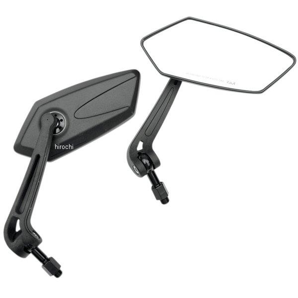 【USA在庫あり 10mm】 K&S ケーアンドエス ミラー GTスタイル 10mm ミラー 黒(左右ペア) 0640-0482 黒(左右ペア) JP, ドリームリアライズ:97009c24 --- officewill.xsrv.jp