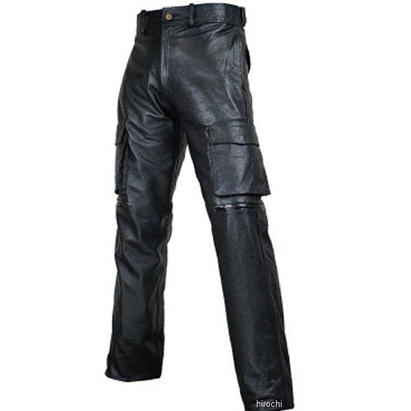 ラフ&ロード カーゴ レザーパンツ ルーズフィット 黒 MWサイズ RA7054LFBK2 JP店