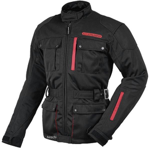 ラフ&ロード トレック メッシュジャケット 黒/赤 Mサイズ RR7327BK/RD2 JP店