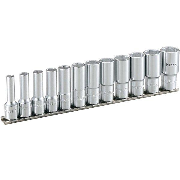 トネ TONE ディープソケッセット(6角・ホルダー付) インチ 差込角 9.5mm (3/8インチ) HSBL312 JP店