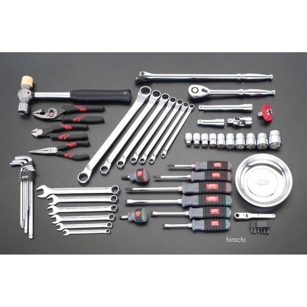 【メーカー在庫あり】 エスコ ESCO 58個組 工具セット 000012078752 JP店