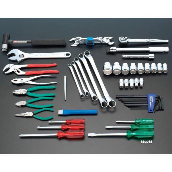 【メーカー在庫あり】 エスコ ESCO 53個組 工具セット 000012073602 JP店