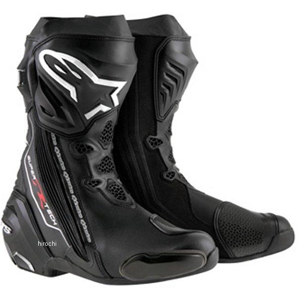 【メーカー在庫あり】 アルパインスターズ Alpinestars ブーツ Supertech-R 0015 黒 42サイズ 26.5cm 8051194746153 JP店