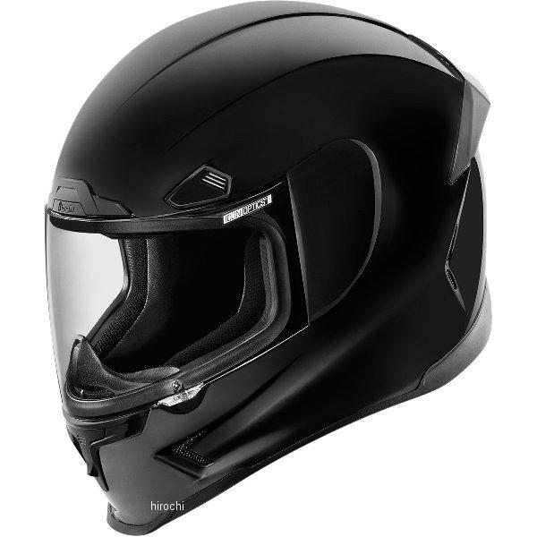 【USA在庫あり】 アイコン ICON フルフェイスヘルメット Airframe Pro 黒 2XLサイズ (63cm-64cm) 0101-8028 JP店