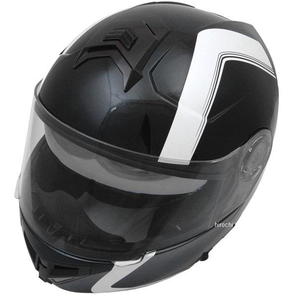 【メーカー在庫あり】 ライズ RIDEZ システムヘルメット GK フェアライン 黒/白 Lサイズ (57cm-60cm) 4527625090750 JP店