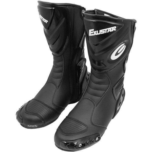 E-SBR220-BK エグザスター EXUSTAR レーシングブーツ 黒 サイズ #42 26.5 4712947520591 JP店