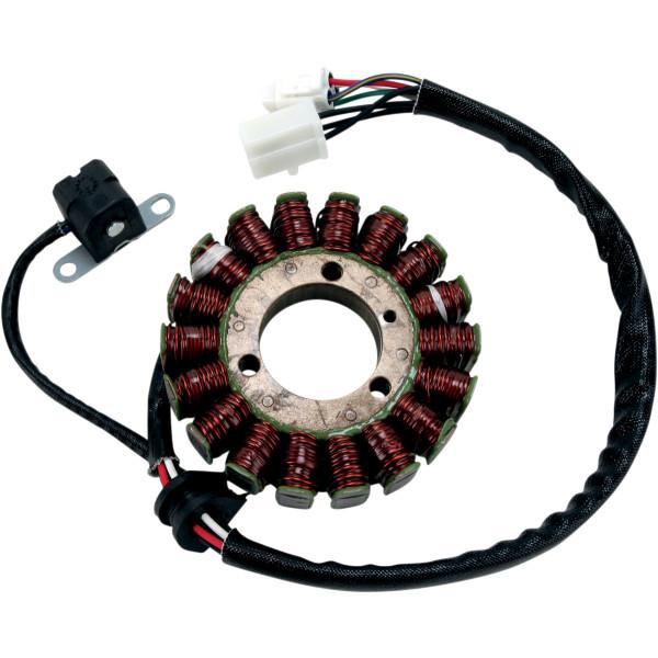 【USA在庫あり】 ムース MOOSE Utility Division ステーター 03年-06年 カワサキ KFX400 補修用 1個売り 2112-0495 JP