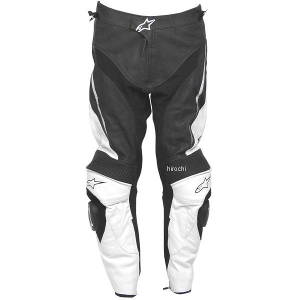 【メーカー在庫あり】 アルパインスターズ Alpinestars レザーパンツ TRACK 黒/白 52サイズ 8051194741622 JP店