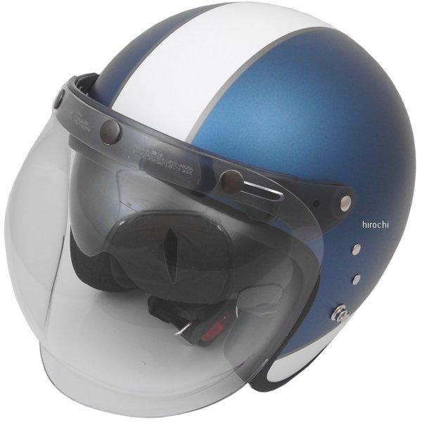 【メーカー在庫あり】 東単 アウル OWL システムヘルメット ハイブリッドスモール ビンテージブルー フリーサイズ HSJ-VBL JP店