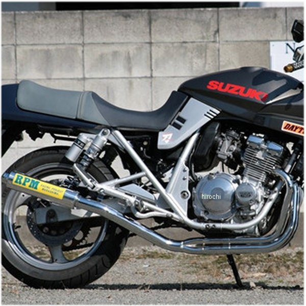 アールピーエム RPM フルエキゾースト 4in2in1 91年-99年 カタナ GSX250S アルミ 4013 JP店