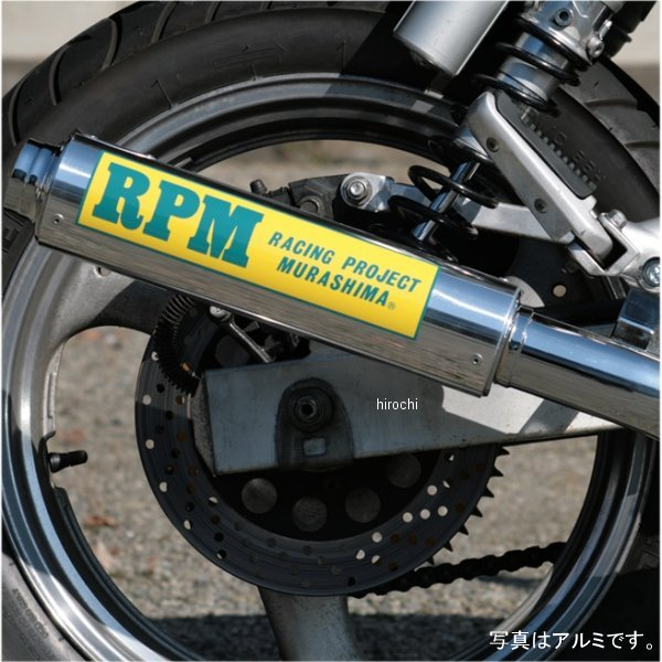 アールピーエム RPM フルエキゾースト 4in2in1 XJ400ZS ステンレス 3005S JP店