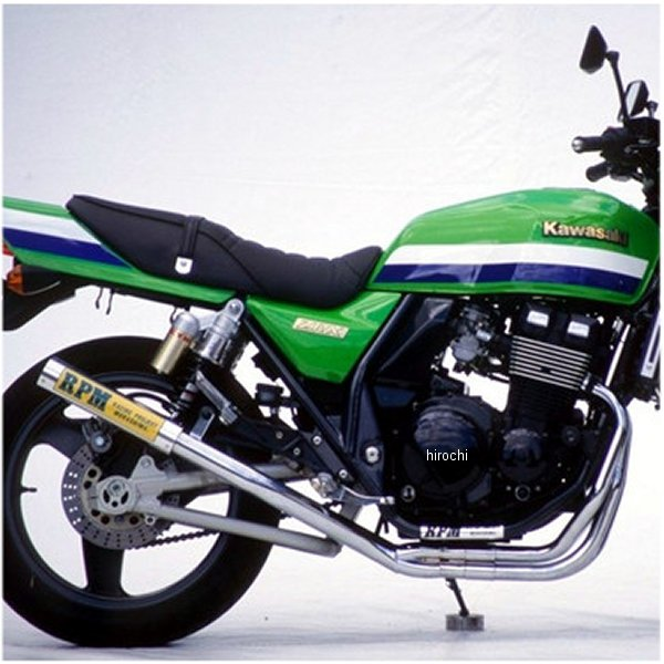 アールピーエム RPM フルエキゾースト 67レーシング 94年-97年 ZRX400 アルミ 1648 JP店