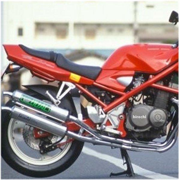 アールピーエム RPM フルエキゾースト デュアル 右2本出し 89年-94年 バンディット400 アルミ 4023 JP店