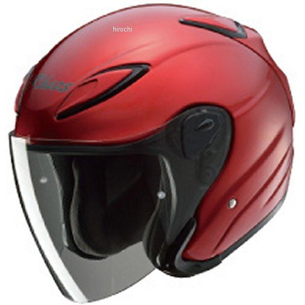 ホンダ純正 ジェットヘルメット JA2 キャンディルビーレッド XSサイズ (54cm-55cm) 0SHGB-JA2A-R JP店