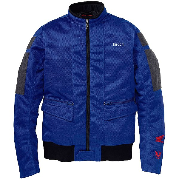 ホンダ純正 Honda×YOSHIDA ROBERTO シングルライダースジャケット 青 Lサイズ 0SYTK-W3J-B JP店