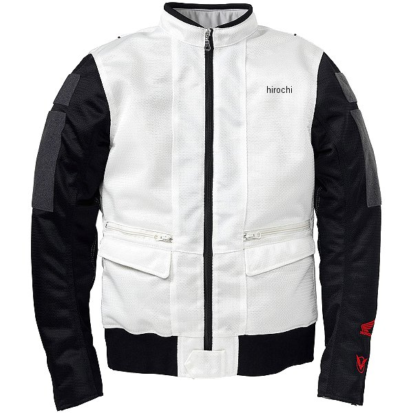 ホンダ純正 Honda×YOSHIDA ROBERTO シングルライダースジャケット 白 Lサイズ 0SYTK-W3J-W JP店