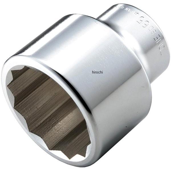 トネ TONE ソケット(12角) 対辺 55mm 長さ 86mm 差込角 25.4mm (1インチ) 8D-55 JP店
