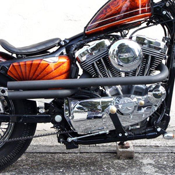 イージーライダース フルエキゾースト クロスショット 04年以降 XL 黒 H4277-BK JP店
