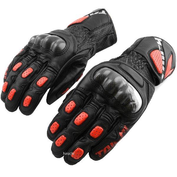 【メーカー在庫あり】 RSタイチ GP-X レーシング グローブ 黒/赤 Mサイズ NXT0539915M JP店