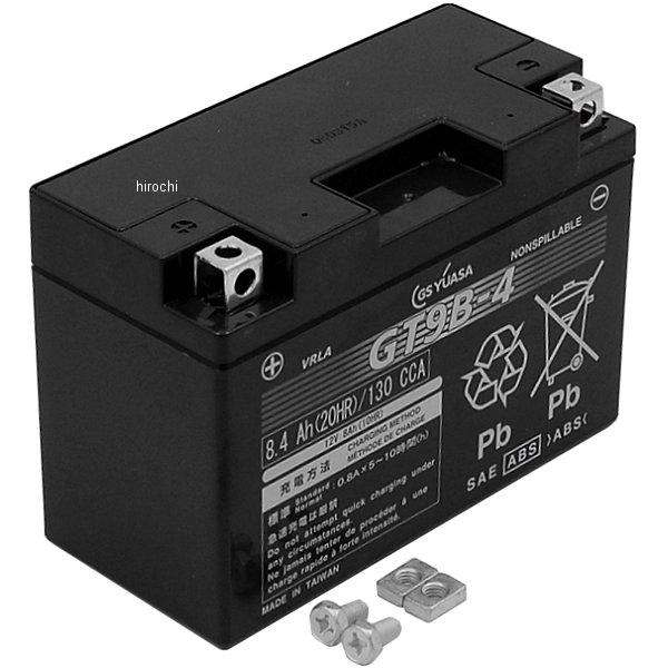 【メーカー在庫あり】 GT9B-4 GSユアサ MFバッテリー 制御弁型 12V (液入充電済) GT9B-4-GY-C-ZZ1 JP店