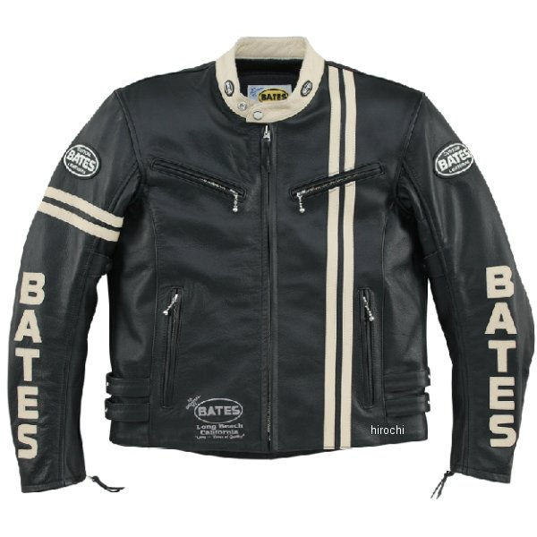 ベイツ BATES レザージャケット アイボリー Lサイズ BAJ-141CS JP店