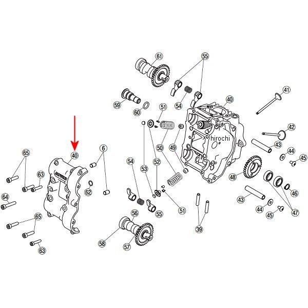 デイトナ フィンガーフォロアー DOHC 補修部品 シリンダーヘッド&カバーセット 78953 JP店
