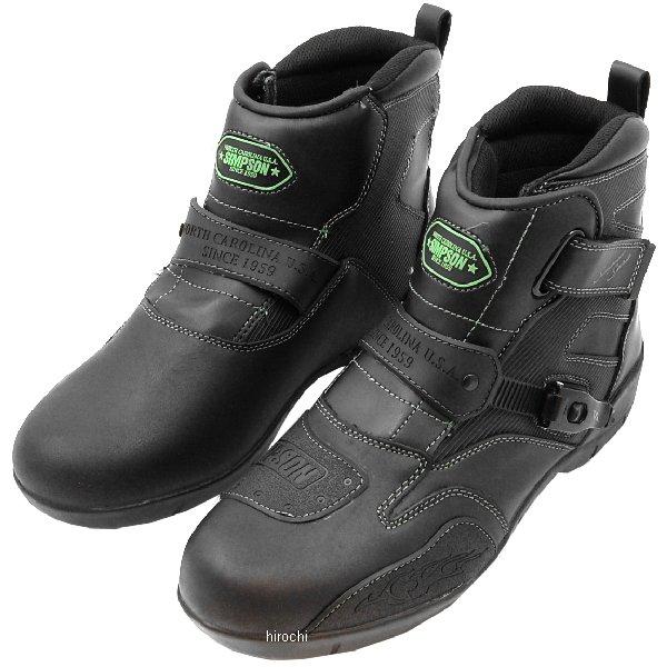シンプソン SIMPSON ショートブーツ 黒/緑 23cm SPB-091 JP店