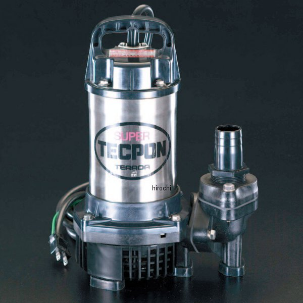エスコ(ESCO) AC100V(50Hz)/50mm 水中ポンプ(汚水用) 000012006421 JP